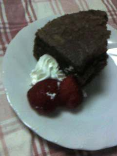 チョコシフォンケーキ1