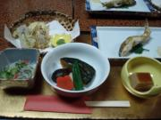 宿坊の夕食