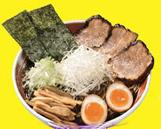 ラーメン国技館・富山・麺家いろは・濃厚黒醤油