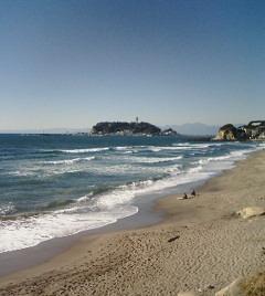 砂浜(右側)
