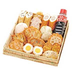 蒲鉾の名店鈴廣から季節限定の豪華おでんセット