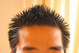 髪の毛カット後