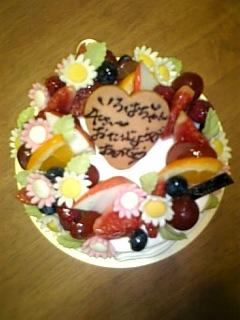 4歳のバースデーケーキ