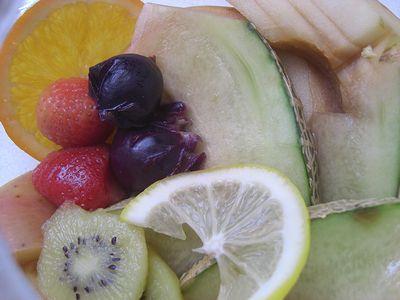 フルーツティーの果物たち