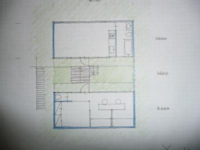 離れのある家(図面)