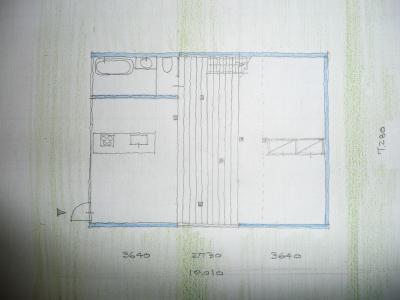 階段の家(図面)