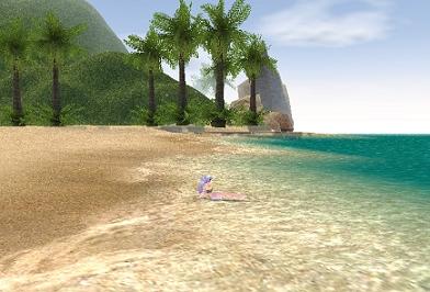 プライベートビーチ^^