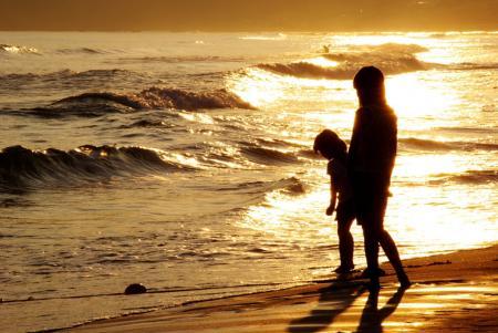 夏・海・それぞれに朝
