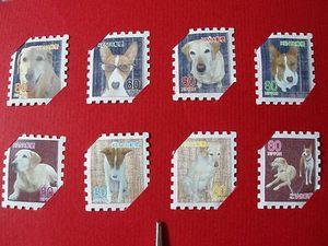 なんちゃって切手