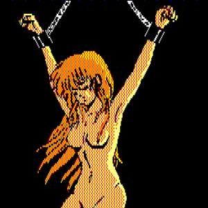 何故か全裸で吊るされる
