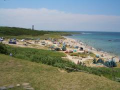 角島の奥側ビーチ