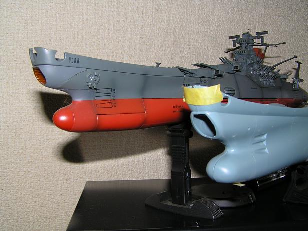 艦首のラインの比較
