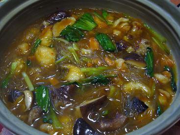 春雨スープ鍋