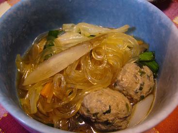 鍋風団子汁