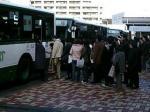 振り替え輸送(名谷駅)