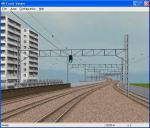 後ろに列車線が下りて来る部分まで(適当でも)作ることで比べやすくなるのかも。