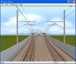 新幹線っぽい架線柱に見えてしまうのは気にしない
