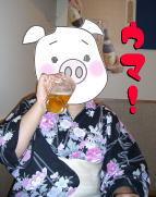 ちょいデブ女ビールを飲む!