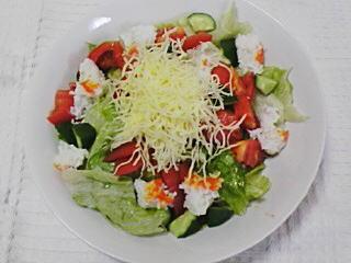 青虫サラダ