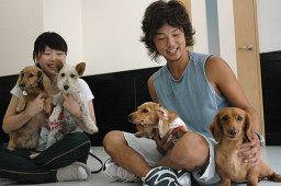 犬のしつけを段階的に行うことで話題の「いぬの幼稚園と学校」=札幌市中央区