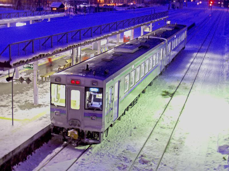 JR富良野線ワンマン列車