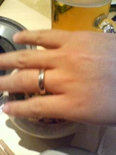結婚指輪?