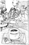 カフェスケッチ1