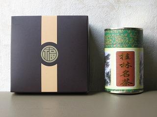 福臨門の月餅と桂林ウーロン茶1
