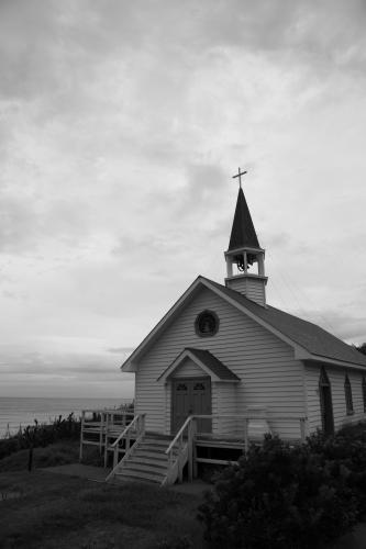 海辺の礼拝堂
