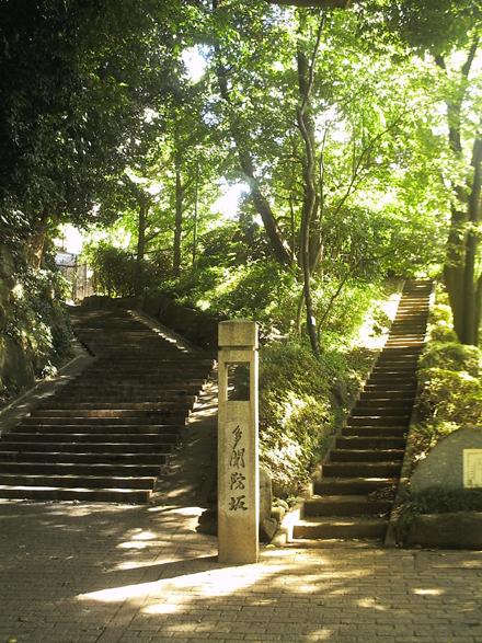深大寺の階段