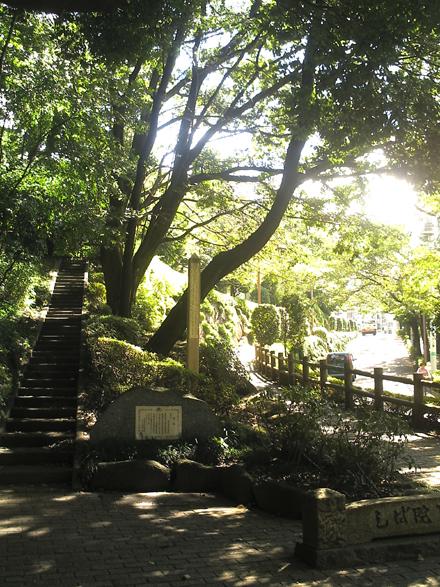 深大寺の坂