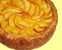 【アレルギーの方のためのオーダーケーキ】かつらぎ町産りんごをたっぷり使った卵不使用の米粉...
