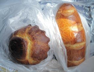 オーボンスーヴニールのパン