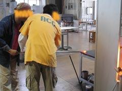 ガラス工房-製作過程2
