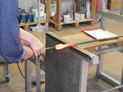 ガラス工房-製作過程3