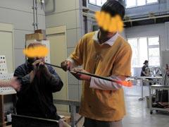 ガラス工房-製作過程4