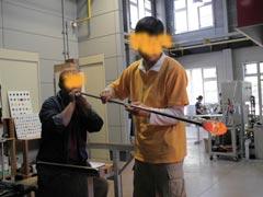 ガラス工房-製作過程7