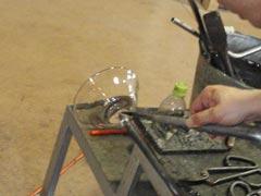 ガラス工房-製作過程10