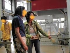 ガラス工房-製作過程1