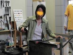 ガラス工房-製作過程6