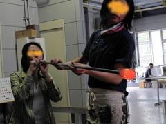 ガラス工房-製作過程8