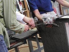 ガラス工房-製作過程9