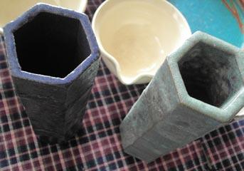 sigaraki土産-花器2色