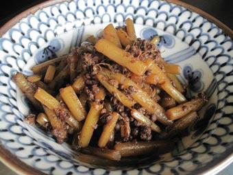 ふき山椒煮