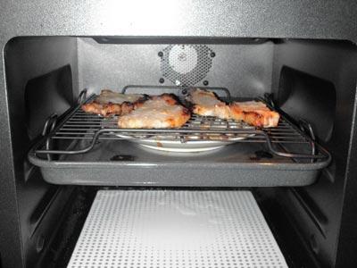 豚味噌オーブン内の様子