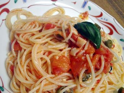 スパゲッティポモドーロ-1