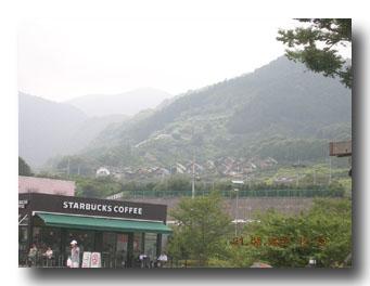 富士川sa付近で見えるもの