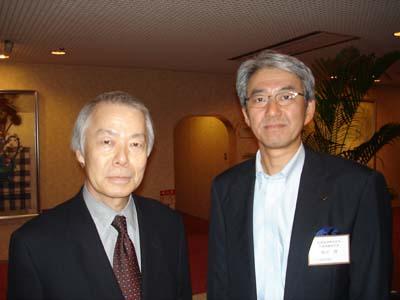 小川和久氏と筆者