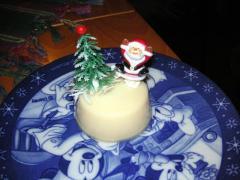 クリスマスにプリンを食べました