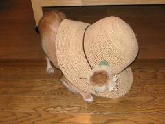母の日のプレゼントは麦わら帽子!